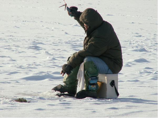 Самодельный зимний ящик