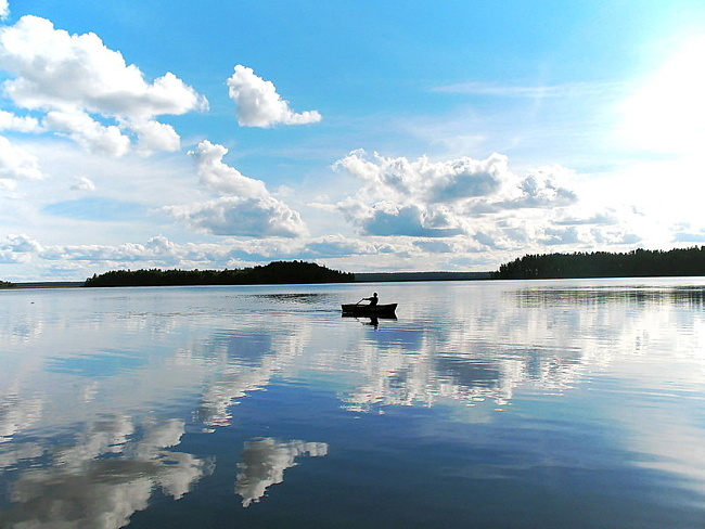 Прекрасное озере Селигер