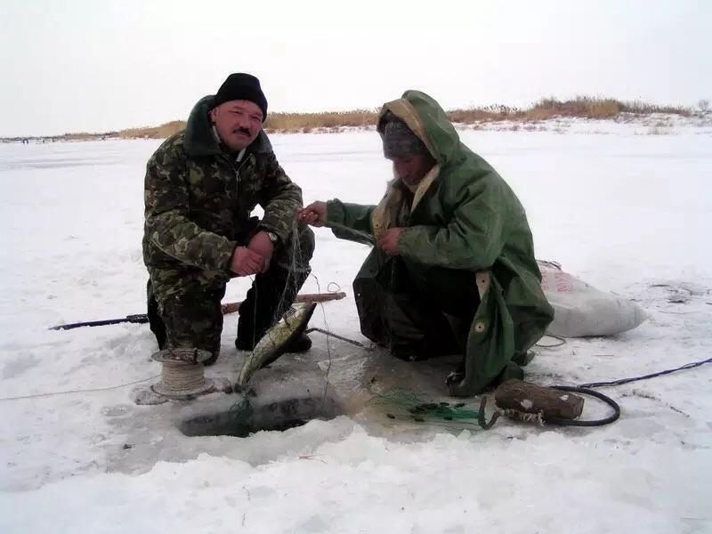 Улов в Казахстане